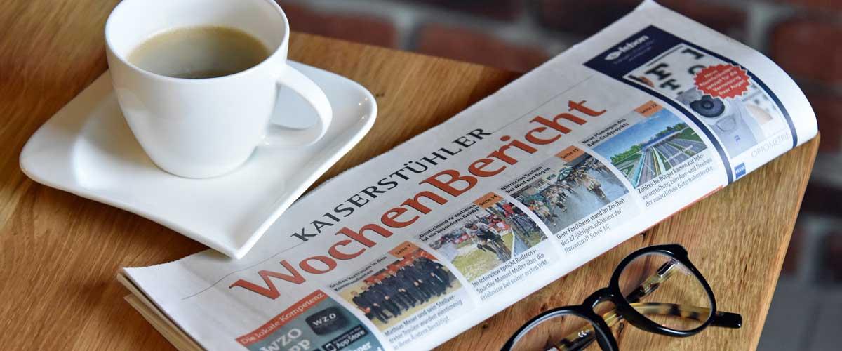 Badenkurier Kaiserstühler Wochenbericht